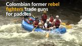 From gunbattles to tourism: Colombia's ex-rebels turn rafting guides