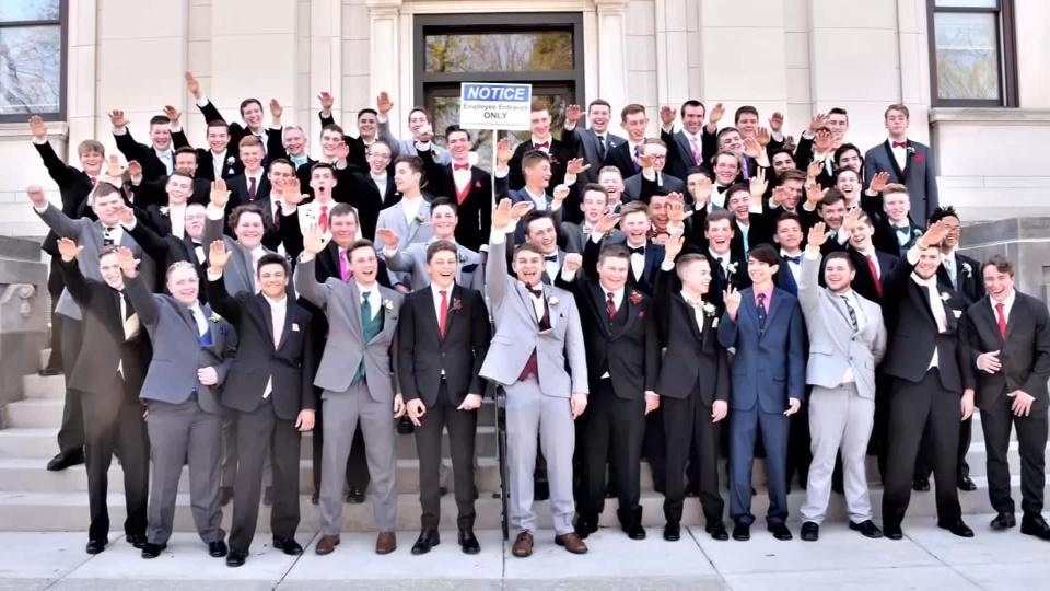 Nazi salute prom photo draws outrage