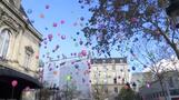 Wreath laid and balloons released to remember those killed on third anniversary of Paris attacks