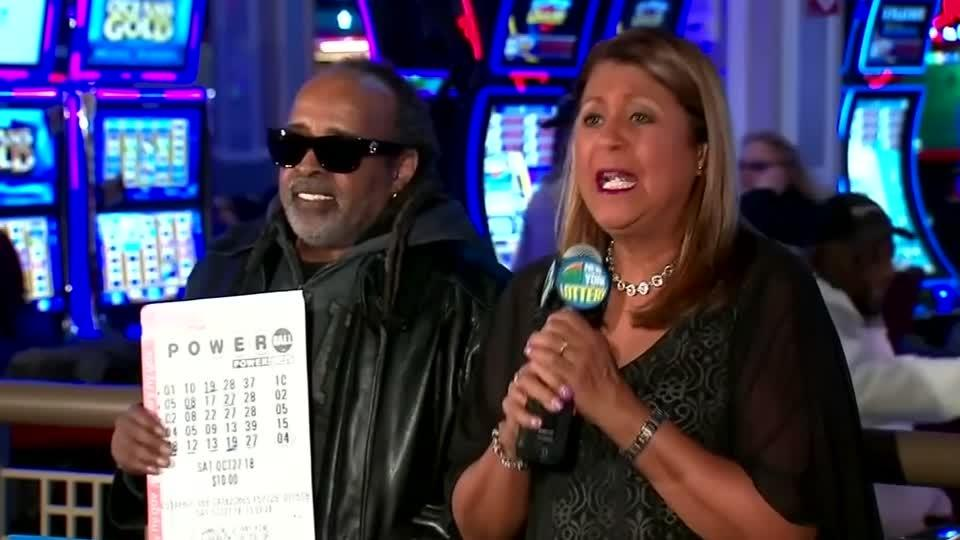 Harlem man wins New York's largest lotto jackpot