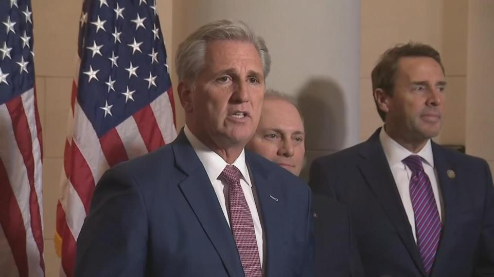 Rep. McCarthy picked as GOP's next leader