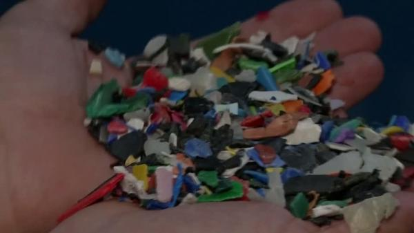 Recycling machine has 'cracking' solution to plastic pollution