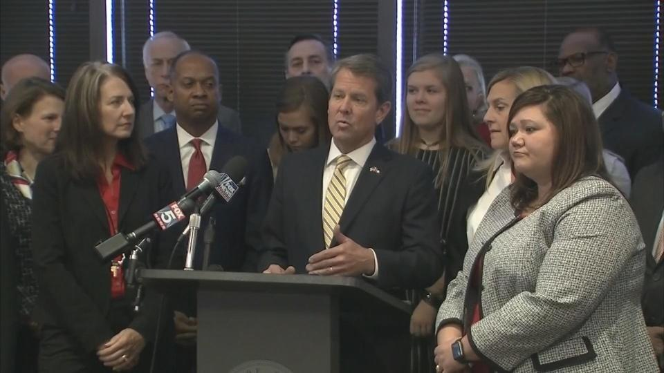 Georgia's Kemp announces transition team