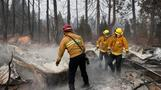 After wildfires, California eyes rain, possible mudslides