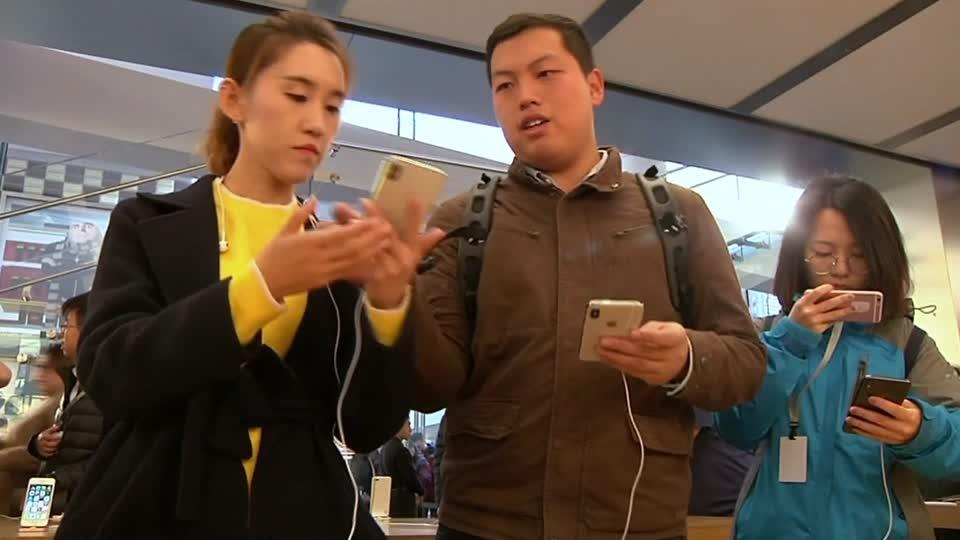 China bans sales of some iPhones