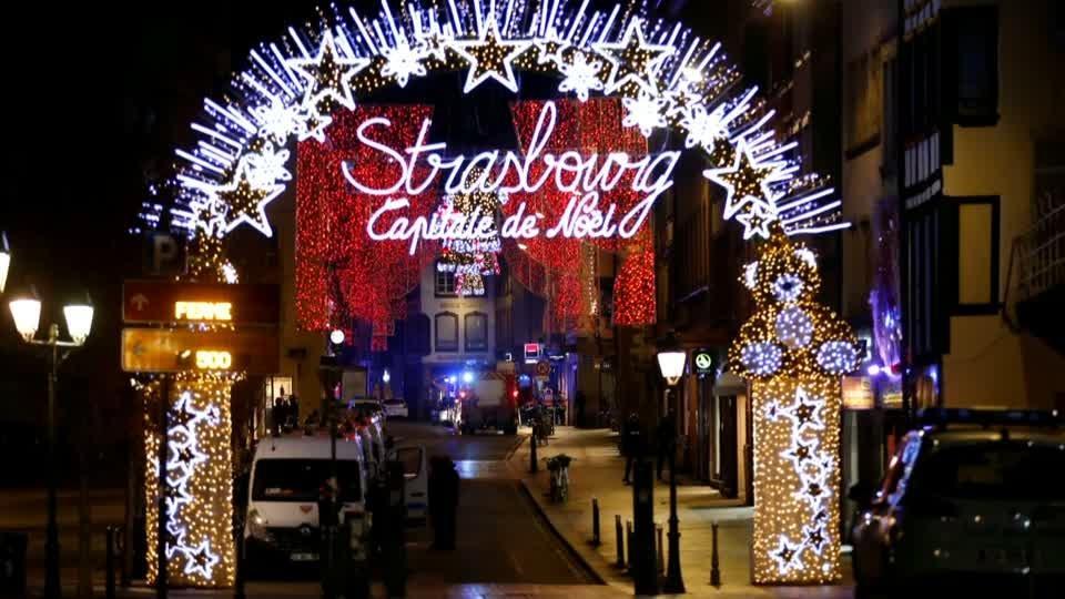 Gunman kills three at Strasbourg Christmas market