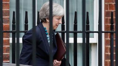 British PM May faces make-or-break confidence vote
