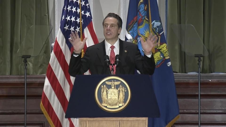 NY's Cuomo vows to legalize pot in 2019