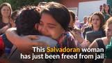 El Salvador court frees woman jailed under anti-abortion law