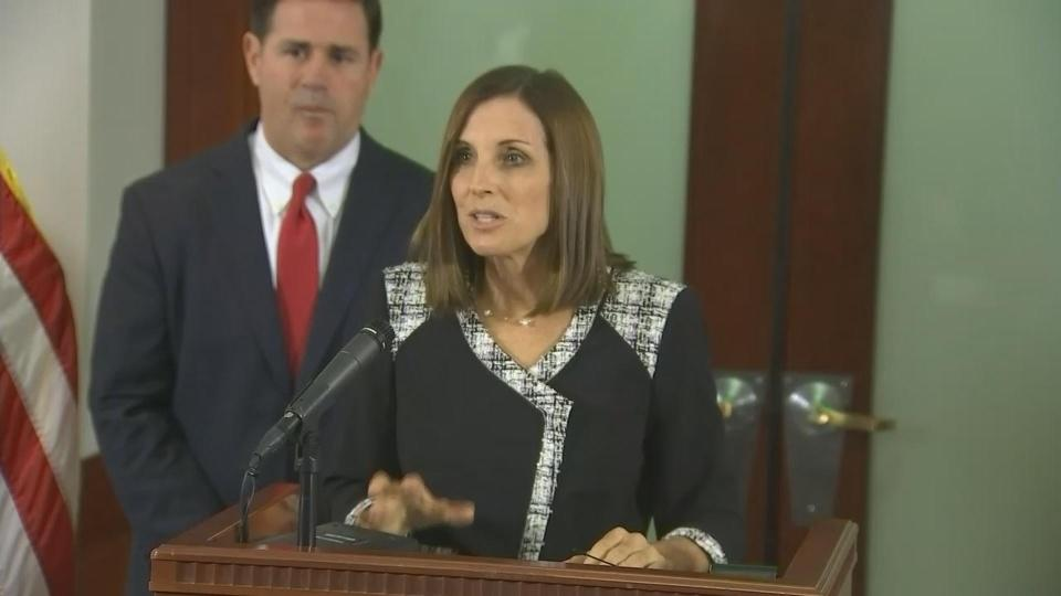 AZ gov names McSally to U.S. Senate seat