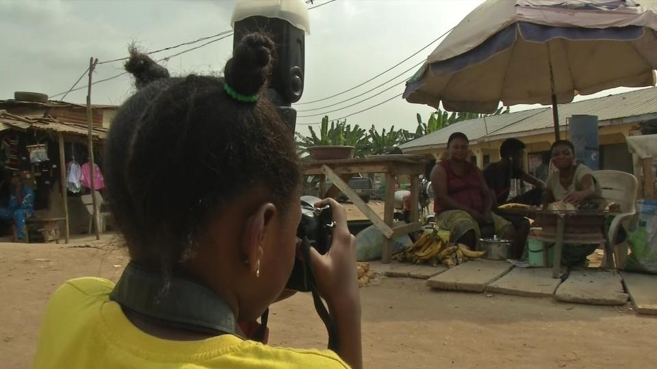 8 year-old photographer impresses in Lagos