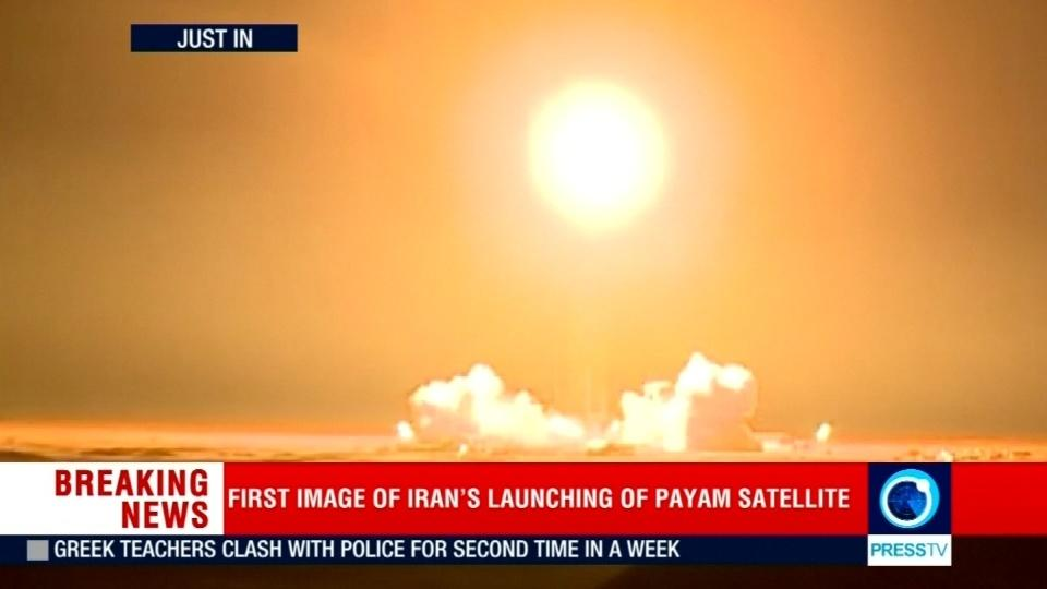 Iran satellite launch, which U.S. warned against, fails