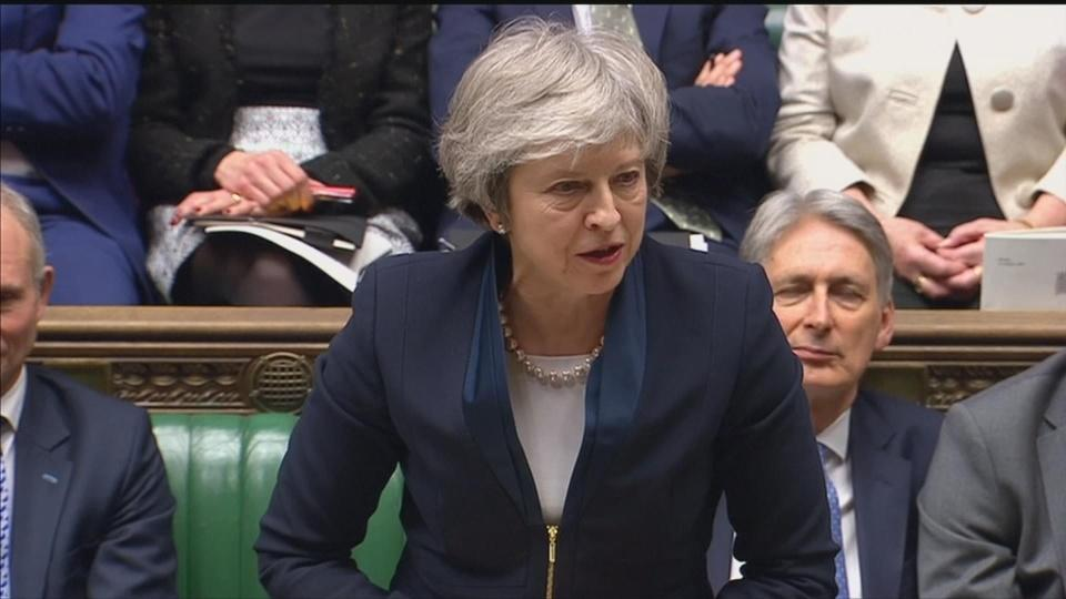 May makes final plea ahead of Brexit vote