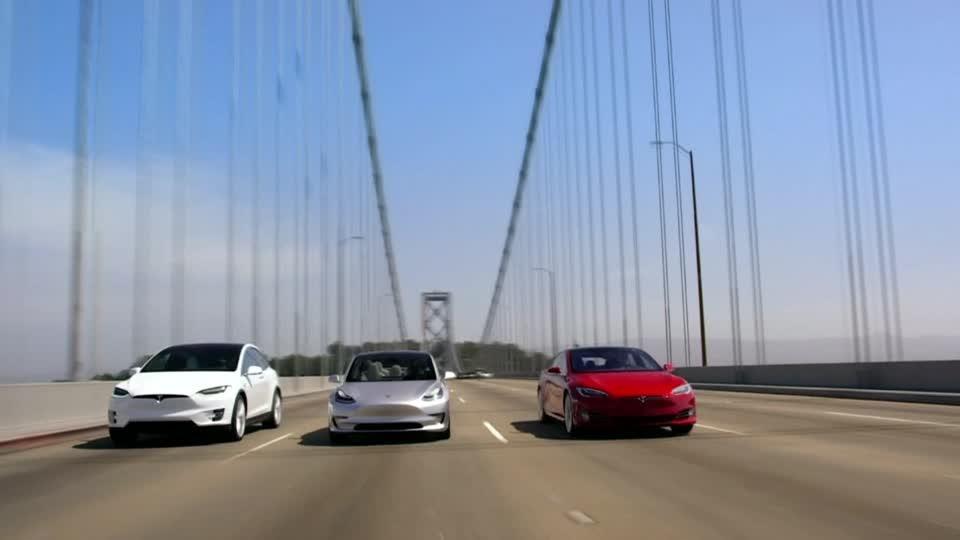 Tesla stock drops
