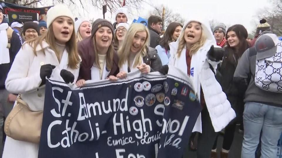 Thousands join March for Life in D.C.