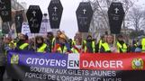 France faces a tenth wave of protests