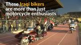 Iraqi bikers share their enthusiasm to help heal country