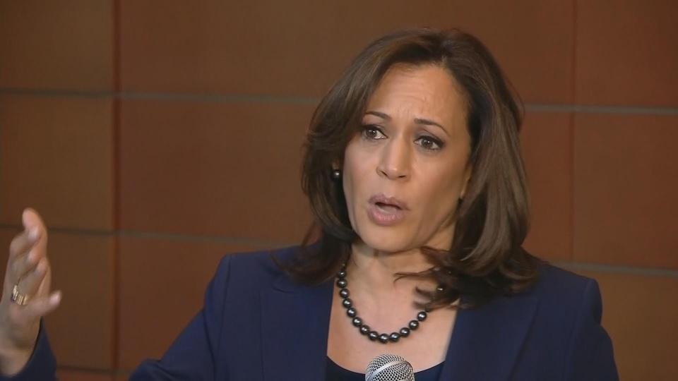 "Can't do foreign policy with ""tweets"": Harris"