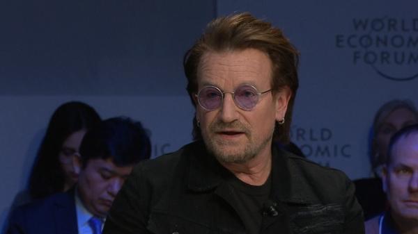 'Capitalism is a wild beast' - Bono