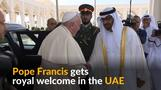 Pope Francis makes history with UAE visit