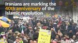 Iranians celebrate 40th anniversary of Islamic revolution