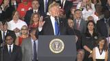 Trump warns Venezuela military risking their lives