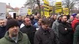 Taxi-Proteste gegen Shuttle-Dienste - und gegen Scheuer