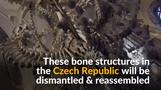 Czechs to dismantle, clean & reassemble pyramid of human bones