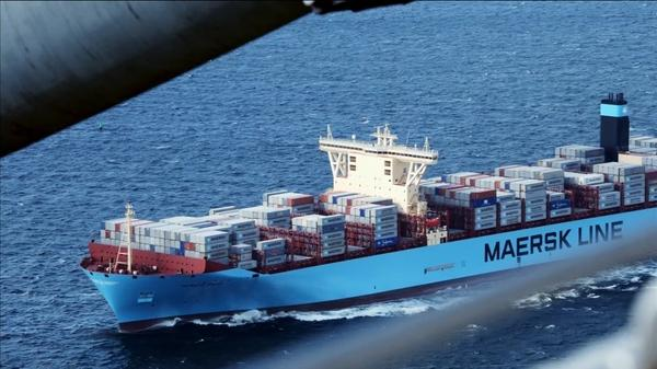 Shipping giant Maersk warns of trade slowdown