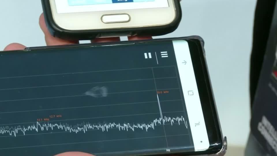 Tech turns data into ultrasonic sound waves