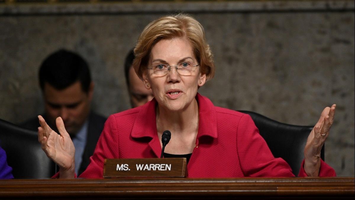 Warren vows to break up big tech if president
