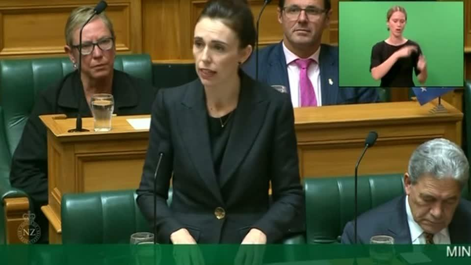 'When I speak, he shall be nameless': New Zealand's Ardern