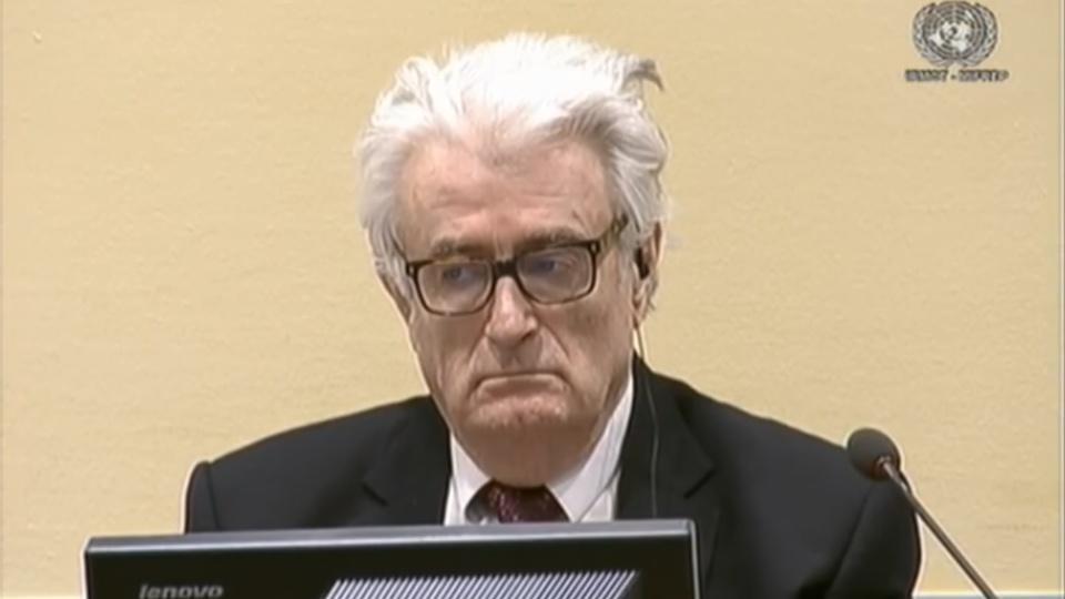 Ex-Bosnian Serb wartime leader Karadzic sentenced to life in prison