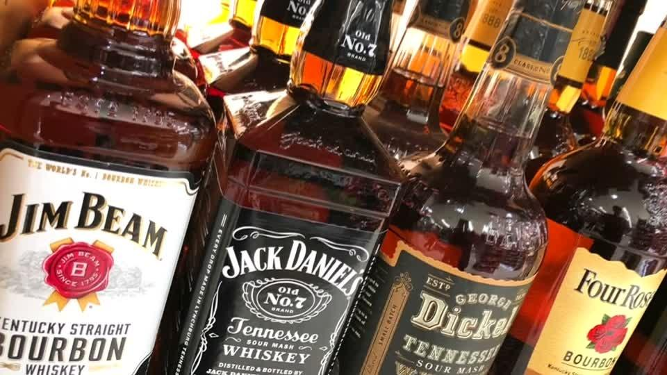 U.S. whiskey exports dry up as tariffs bite
