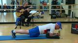 71-year-old Minnesota man planks for world record