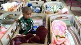 Starved infants crowd Syrian hospitals after IS defeat
