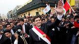 Peru's ex-leader dies after self-inflicted gunshot