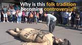 Burning of Judas effigy in folk tradition condemned as anti-Semitic