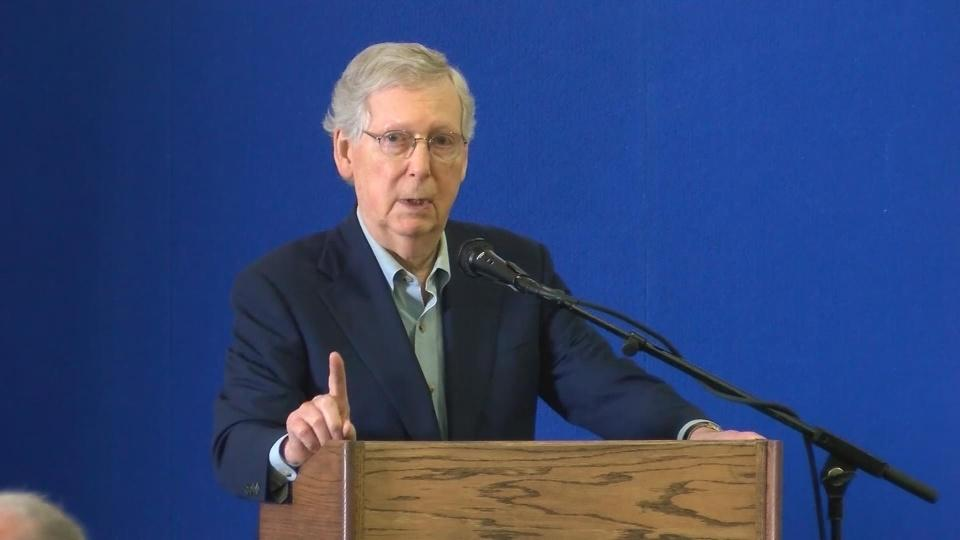 McConnell vows to be 'grim reaper' of socialism