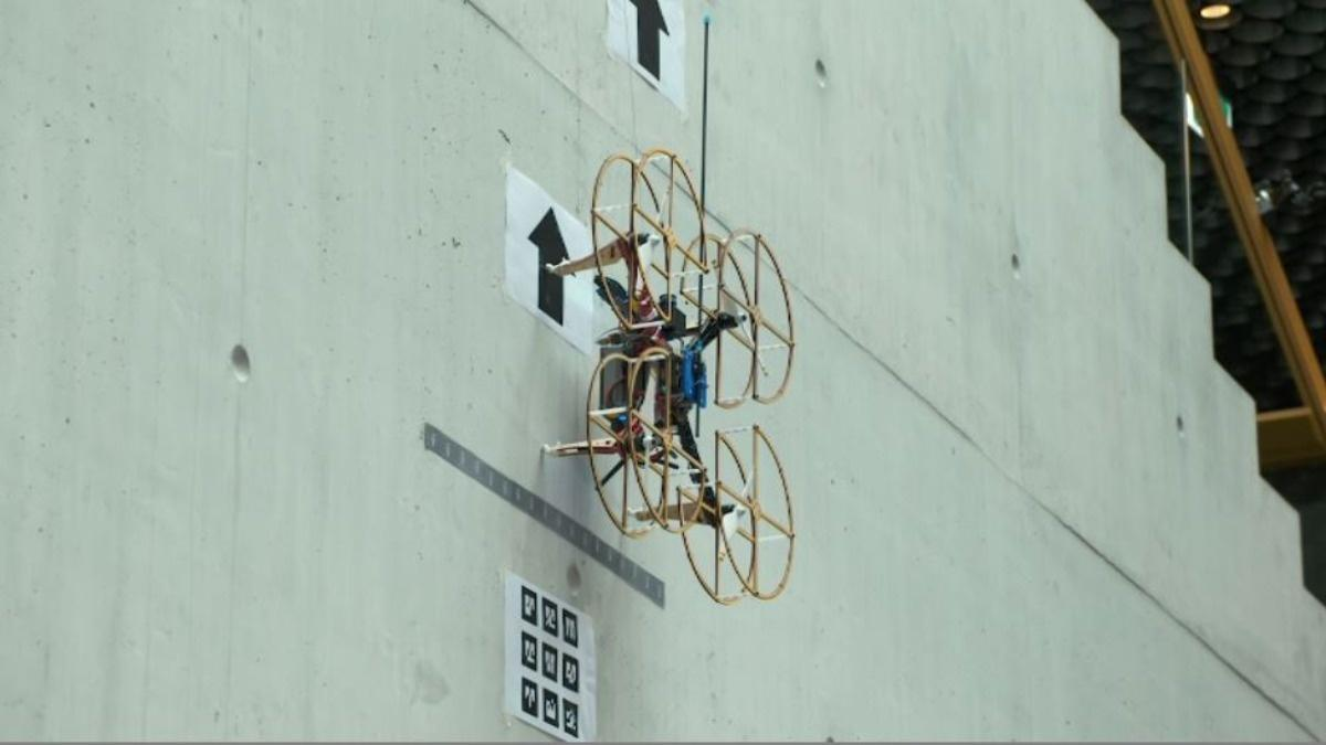 Drones could help repair buildings of the future