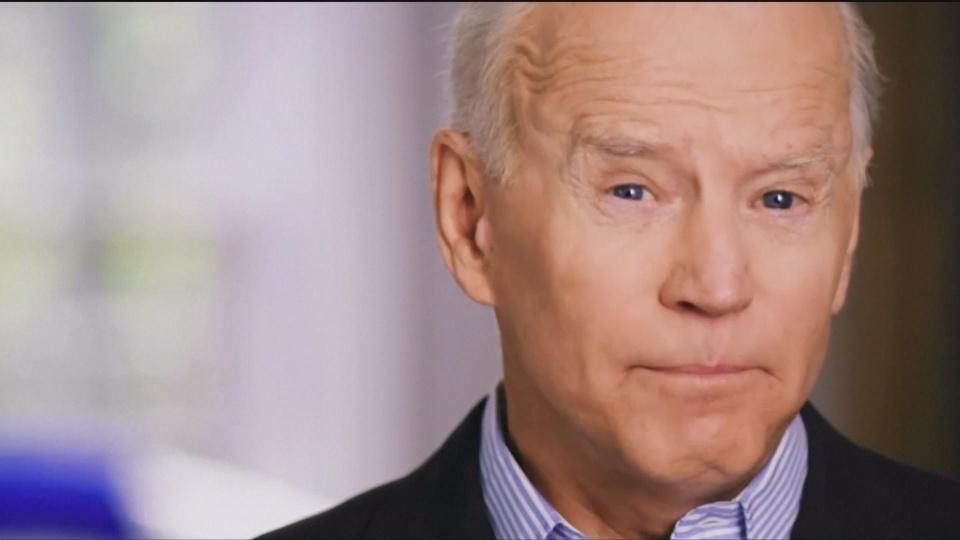 Biden announces bid for White House