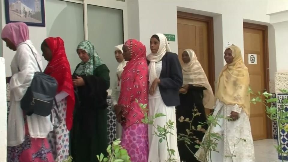 African students learn moderate Islamic teachings in Morocco