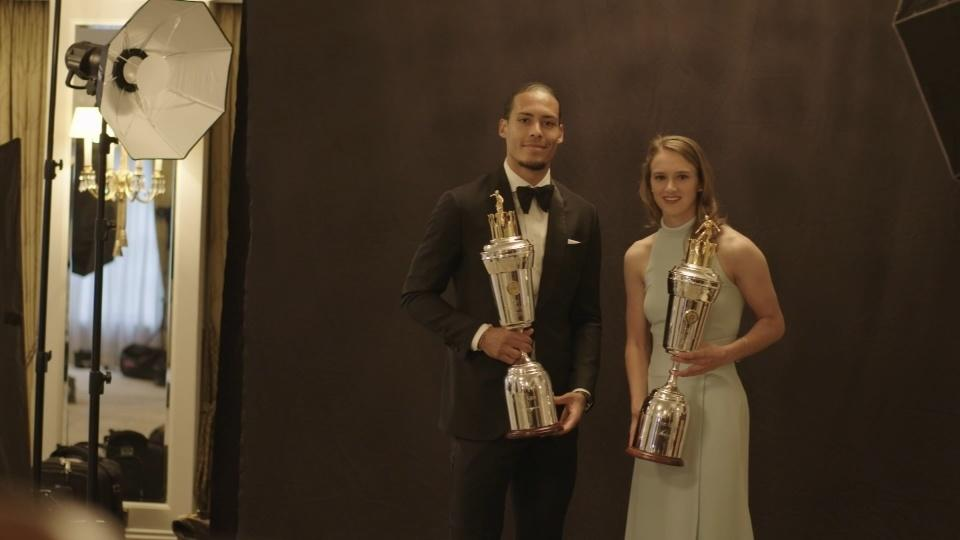 Van Dijk and Miedema grab PFA player of the year awards