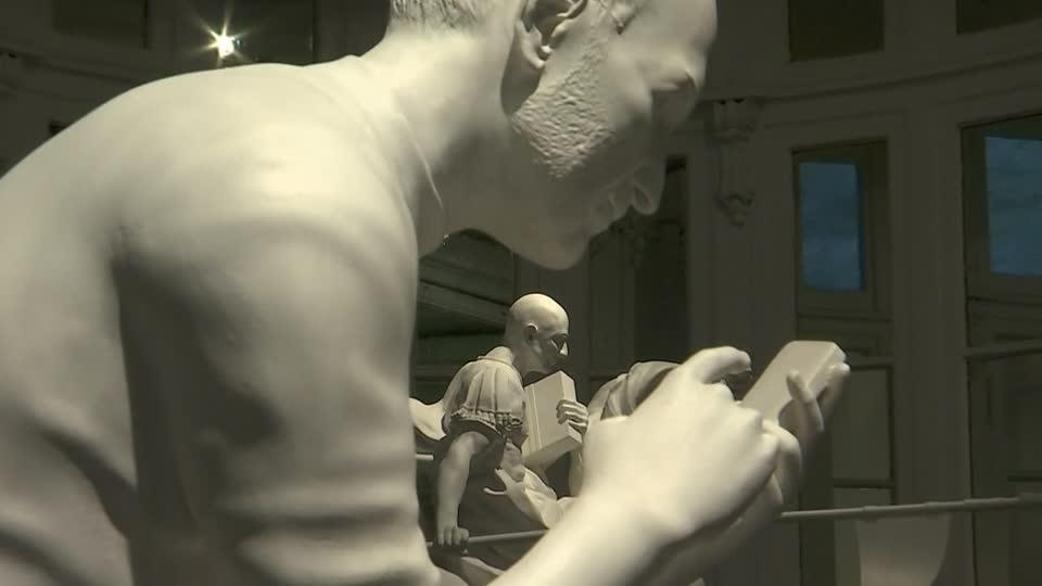 Will technology bring about the demise of humanity? Artist Sebastian...