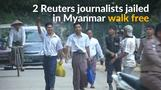 Reuters reporters jailed in Myanmar freed after more than 500 days