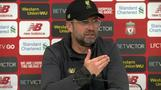 Klopp disappointed with league defeat but upbeat for team's future