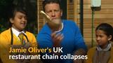 Jamie Oliver's UK restaurant chain goes under