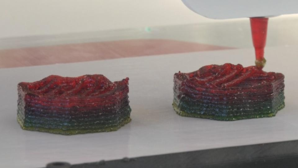 The 3D-printed customisable food supplements
