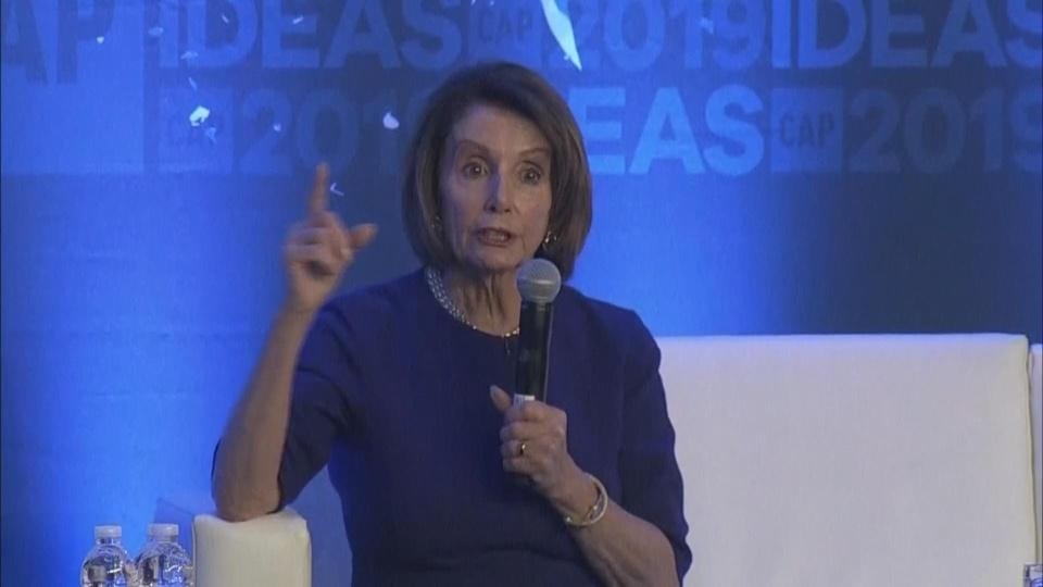 """Pelosi: Trump """"obstructing"""" and """"cover-up"""" could be impeachable"""