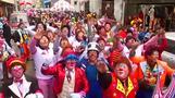 مئات المهرجين يجلبون البهجة إلى ليما احتفالا بيوم المهرج في بيرو